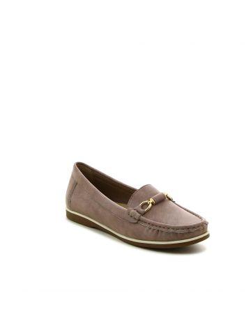 נעלי מוקסין אבזם מטאלי