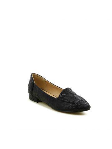 נעלי נוחות במראה קרוקו