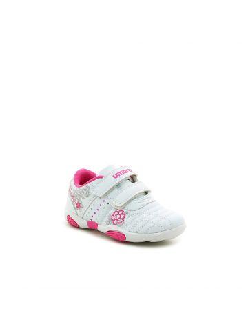 נעלי ספורט רקמת פרחים