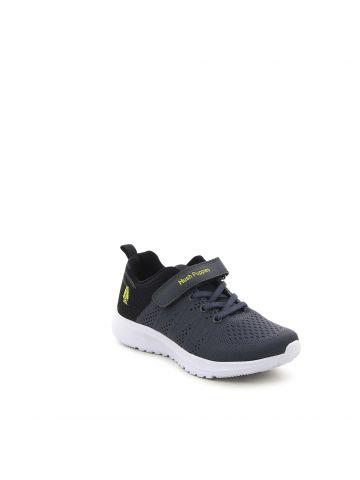 נעלי ספורט סרוגות  קולור בלוק