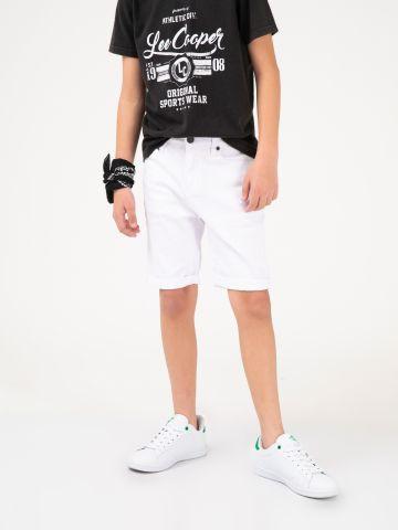 מכנסי ברמודה לבנים