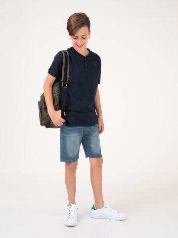 מכנסי ברמודה ג'ינס