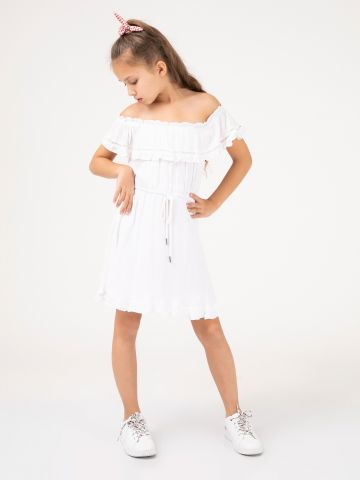 שמלת מלמלה אוף שולדרס