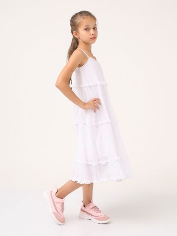 שמלה שכבות חגיגית קלילה